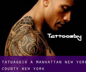 tatuaggio a Manhattan (New York County, New York)